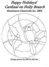 Bildergebnis für stained glass birds on branch pattern