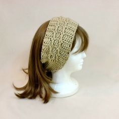 Hey, I found this really awesome Etsy listing at https://www.etsy.com/listing/170917983/beige-headband-ear-muffs-ski-hair-band