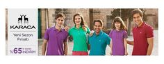Karaca T shirt indirimli kampanyası http://birkerede.com/s/riir