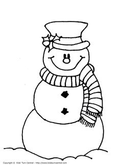 frosty the snowman color page christmas coloring pages coloring pages for kids holiday seasonal coloring pages thousands of free printable coloring - Coloring Page Snowman