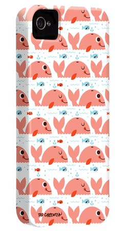 Case-Mate smart phone case designs by Tad Carpenter. Love the pattern for a lil kiddie! :)