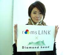 この画像は、roomslinkオフィシャルイベントとして会場にてスナップ撮影を行い投稿しています。roomslink ×ダイアモンドヘッド特設サイト http://monozoku.com  roomslinkオフィシャルサイト http://roomslink.com