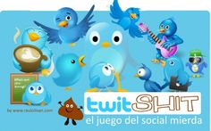 TUITShit el juego del Social Mierda Smile Smile, Social Media, Spain, Character, Reading, Books, Socialism, Games, Libros