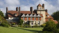 Standen House, Sussex. Arts and Crafts house with architecture by Philip Webb and interiors by William Morris.