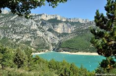 Gorges du Verdon - France http://www.destinoprovence.com/2013/07/gorges-du-verdon-paraiso-natural-na.html