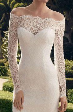 Vestido de boda nuevo Corto Vestido de Novia de Encaje Blanco/Marfil Personalizado Tamaño US2-24 | Ropa, calzado y accesorios, Ropa de boda y formal, Vestidos de novia | eBay!