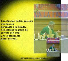 Capturador de Imágenes: DOMINGO 17 DE NOVIEMBRE, TRIGESIMOTERCER DOMINGO DEL TIEMPO ORDINARIO. LITURGIA EUCARÍSTICA