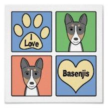 I Love Basenjis