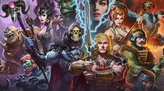 Pre-Order: Masters of the Universe Premium Art Print by Sideshow Collectibles