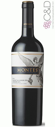 Folgen Sie diesem Link für mehr Details über den Wein: http://www.c-und-d.de/Chile/Cabernet-Sauvignon-Carmenere-Ltd-Sel-2014-Montes-Discover-Wines_67230.html?utm_source=67230&utm_medium=Link&utm_campaign=Pinterest&actid=453&refid=43 | #wine #redwine #wein #rotwein #chile #chile #67230