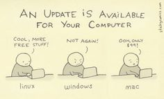 Windows Vs Mac Vs Linux: 10 Funny Jokes In Pictures Information Technology Humor Humour Geek, Tech Humor, Computer Humor, Information Technology Humor, Kali Linux, Programming Humor, Physics Humor, Engineering Humor, Humor Grafico