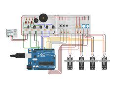 The easiest way to learn electronics and Arduino programming | 123D Circuits by…