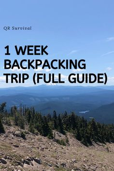 Full guide on how to plan a backpacking trip with a gear list and backpacking tips. The best way to learn about backpacking trip planning is to find a full guide like this. Backpacking Tips, Hiking Tips, Hiking Gear, Camp Trailers, Olympic Mountains, Thru Hiking, Flood Zone, Pacific Crest Trail, Thing 1