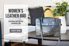 Check out for fashionable leather bag for women at Baclaran Online. We provide variety of items at the most affordable price. Women's Bags, Clutches, Leather Bag, Shop Now, Handbags, Tote Bag, Storage, Womens Fashion, Stuff To Buy