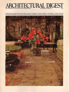 Architectural Digest September-October 1975
