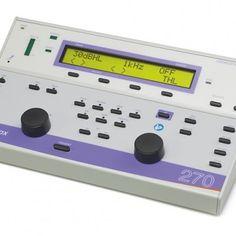 AUDIOMETRO PORTATIL VIA AEREA MANUAL VIA OSEA Y LOGOADUIOMETRIA SPEECH AMPLIVOX 270