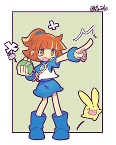 Artist: のばら(和仁)  Characters: Arle Nadja and Carbuncle