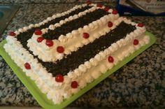 Tarta Aurora de  chocolate y nata Aurora, Chocolate, Cake, Desserts, Food, Custard, Pies, Pie Cake, Tailgate Desserts