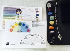 Stashia 7 Chakra Tumbled Stones Set Healing Crystals With Pendulum and Chart -- Want to know more, click on the image. (This is an affiliate link) #IndoorFountainsandAccessories