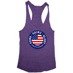 """Get The Guns, Gainz, Glory (womens) Tank From The Athletic Armory Use """"zummy10"""" to get 10% off"""