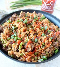 One-Pot Sriracha Steak Fried Rice | Community Post: 15 One-Pot Meals That Are As Easy As They Are Delicious
