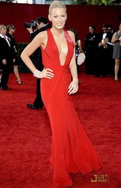 Buy Blake Lively Red Prom Dress Emmy Awards 2009 Red Carpet Dress from  celeblish.com 072b508af76e