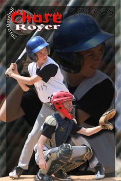 Baseball Youth Sports Poster