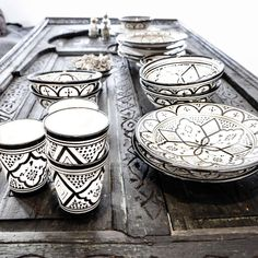 Moroccan ceramics. Perfect for my dream kitchen with LG Black Stainless Steel appliances! #LGLimitlessDesign #Contest
