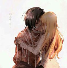 Ray (Rachel) x Zack (Isaac)