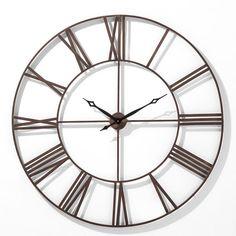Nástěnné hodiny Factory 120cm