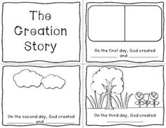 I created this Creation mini book to use with my students.  I hope you can use it if you teach in a Christian school or simply want to use it with your children or Sunday School class.  Enjoy! :)Clipart is from Ashley Hughes and DJ Inkers (Lic # 0403183428)