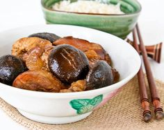 This classic Braised Chicken with Dark Soy Sauce and Mushrooms is Chinese home cooking at its best. So comforting and delicious with a bowl of steamed rice.