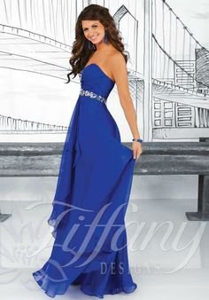Royal blue Prom Dress - $268 I'm in love!!!!!