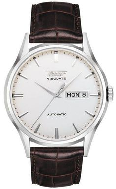 Tissot Watch Visodate D #360-image-yes #bezel-fixed #bracelet-strap-alligator #brand-tissot #case-depth-11-6mm #case-material-steel #case-width-39-3mm #delivery-timescale-7-10-days #dial-colour-silver #gender-mens #jura-top-sellers #luxury #movement-automatic #official-stockist-for-tissot-watches #packaging-tissot-watch-packaging #style-dress #subcat-t-classic #supplier-model-no-t0194301603101 #warranty-tissot-official-2-year-guarantee #water-resistant-30m