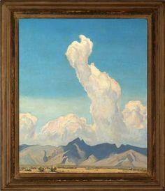 Maynard Dixon Ascending cloud (Tucson).jpg 364×423 pixels