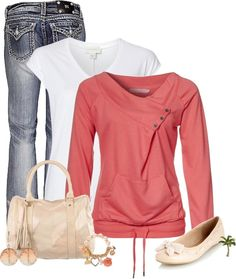 """""""Peachy"""" by cindycook10 on Polyvore"""