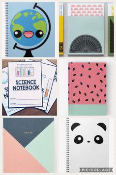 Watermelon notebook by pencilmeinstationery on etsy Diy Craft Projects, Diy Crafts Videos, Diy Tumblr, Diy Cahier, Tumblr School, School Notebooks, Cute School Supplies, Diy Presents, Valentines Diy