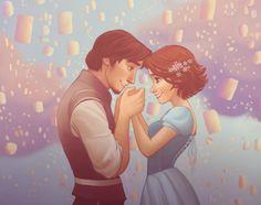 Rapunzel and Flynn Rider. sigh.