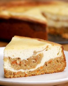 Carrot Cake Cheesecake | Carrot Cake Cheesecake