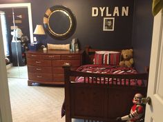 My boys room redo