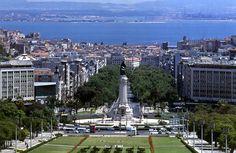 Lisboa.....Parque Eduardo VII...awesome views of city!
