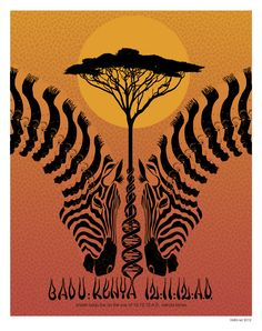 Badu in Kenya poster  #love