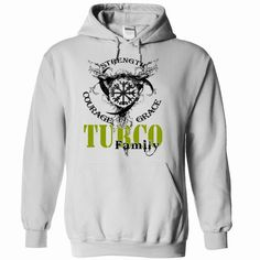 TURCO Family - Strength Courage Grace, Order Here ==> https://www.sunfrog.com/Names/TURCO-Family--Strength-Courage-Grace-tbpvzjpkyz-White-50968226-Hoodie.html?9410 #birthdaygifts #xmasgifts #christmasgifts