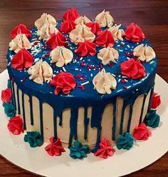Prime 82 Best Flag Cake Images Flag Cake Cake Fourth Of July Funny Birthday Cards Online Fluifree Goldxyz
