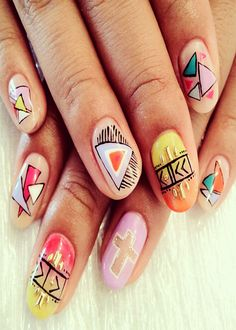 Top Famous Spring Nail Art Design Ideas 2013