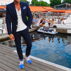 Swedish summer   Stockholm casual suiting.   Full details of my outfit on the Blog www.louisnicolasdarbon.freshnet.com