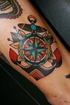Love the compass rose