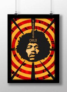 Plakat/Poster_Hendrix