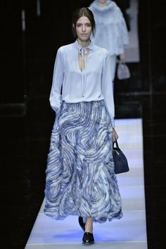 Giorgio Armani. See all the best looks from Milan fashion week fall 2015.