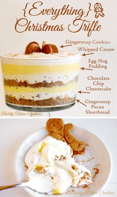 Everything Christmas Trifle , All I can say is WoW! and a very beautiful tutorial ♥
